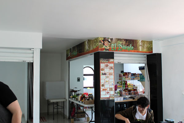 El Duende bar.