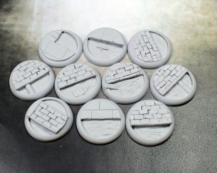 Sewer Round Bases from Secret Weapon Miniatures