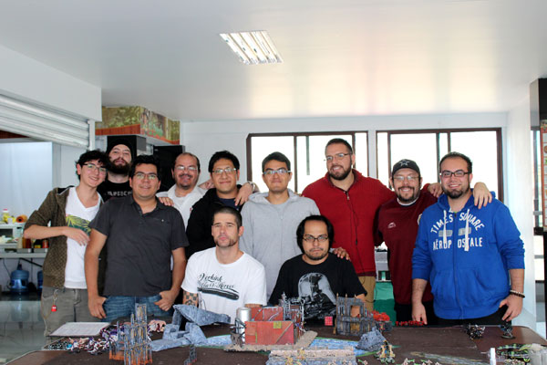 Warhammer 40000 Club  - Mexico City.