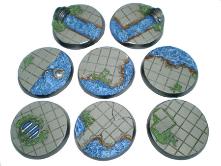 Waterworks Bases from Forge Craft Games