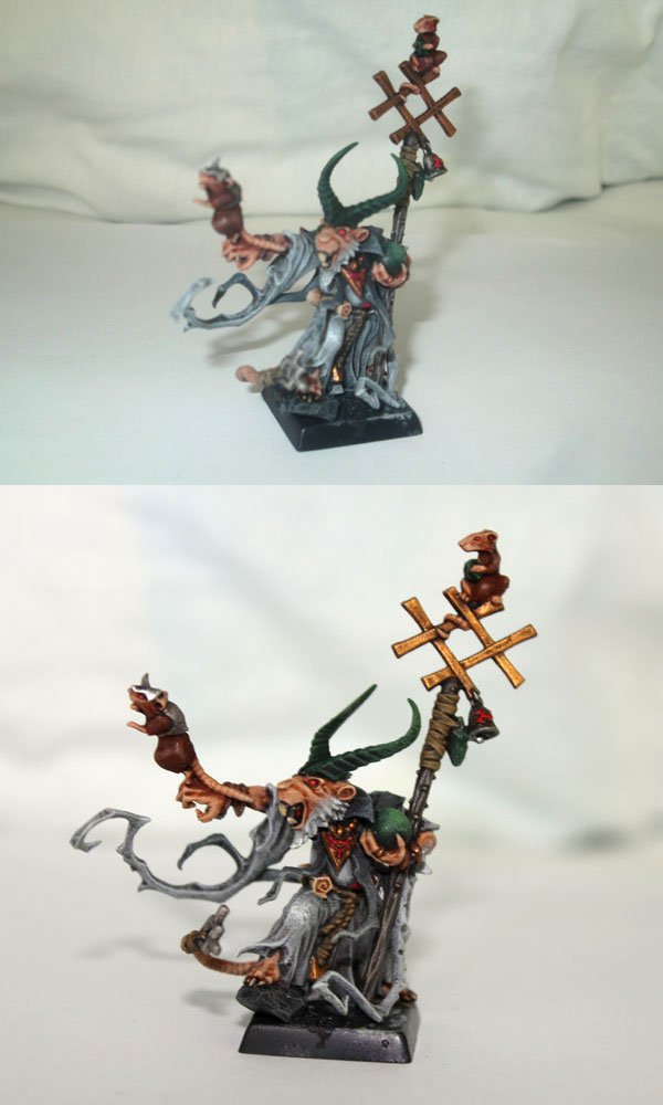 Grey Seer. Upper photo taken with old camera, lower with Canon EOS Rebel T5.