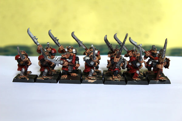 13 of my Stormvermin in their glory!
