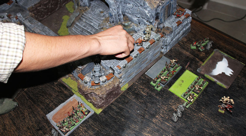 Dwarfs finally got rid off Goblins. The Castle was finally retaken!