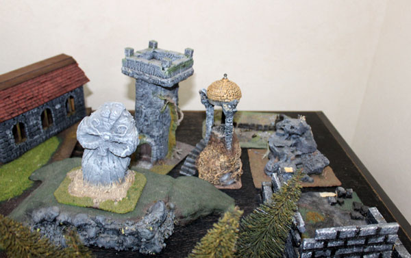 Warhammer Fantasy terrain.