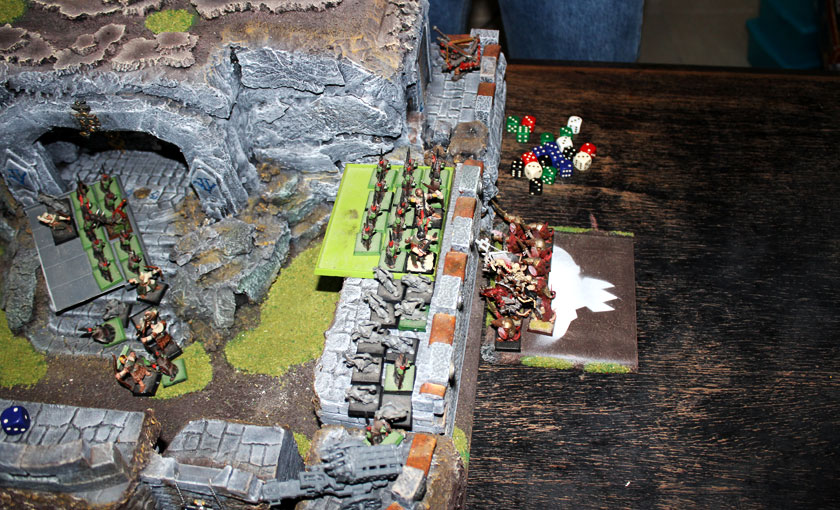 Clanrats on the walls!