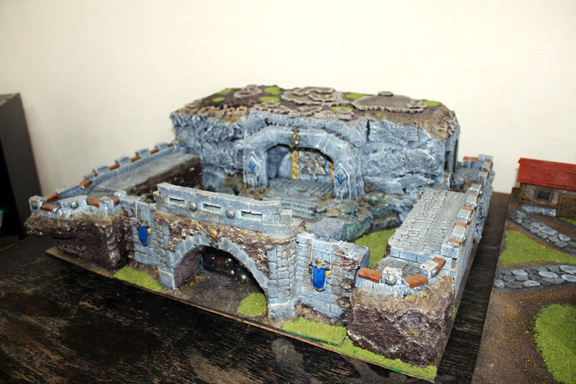 Dwarf stronghold.