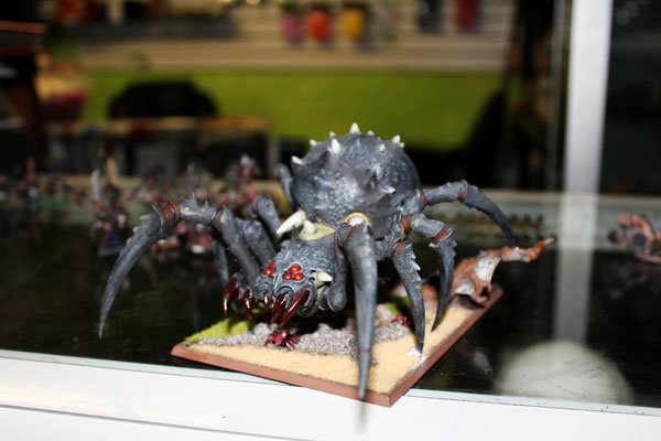 Nicely painted Arachnarok.