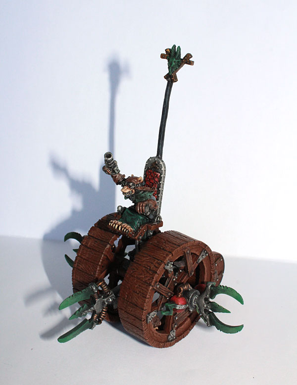 And my favourite model - Doomwheel!