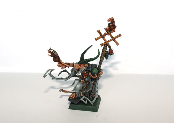 Grey Seer Model from End Times. Super awesome!