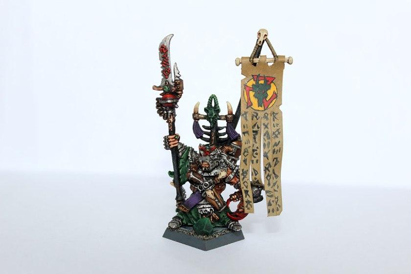 Ikit Claw. Master Engineer of Clan Skryre.