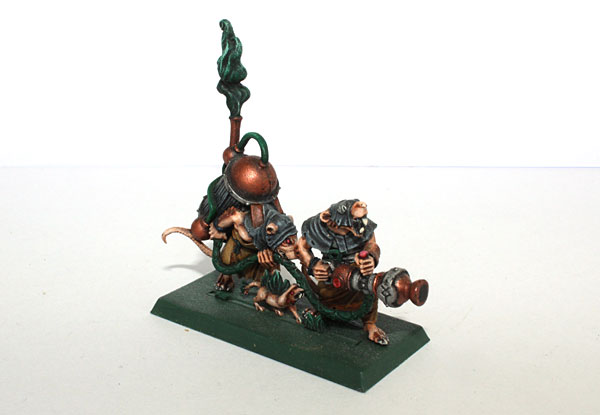 Warpfire Thrower model from Island of Blood campaign.