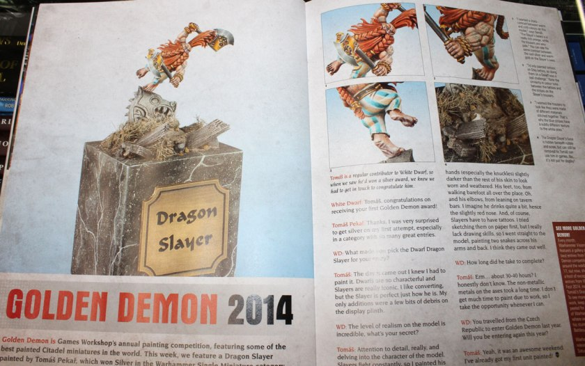 It was presented in White Dwarf magazine. WOW!