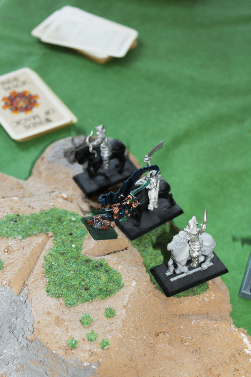 Snikch attack on Kislev Archers.