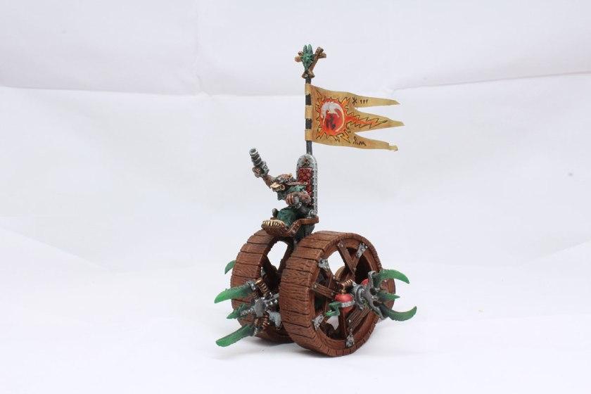 Old metal Citadel's  Doomwheel.