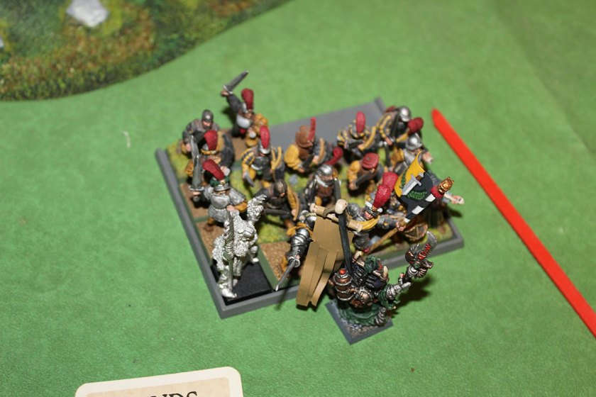 One more move unit- Swordsmen at Ikit Claw himself!