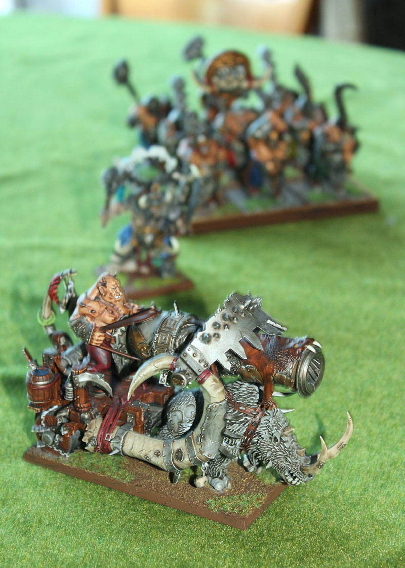 Maciek has some pretty awesome painted models. Like this Ironbalster
