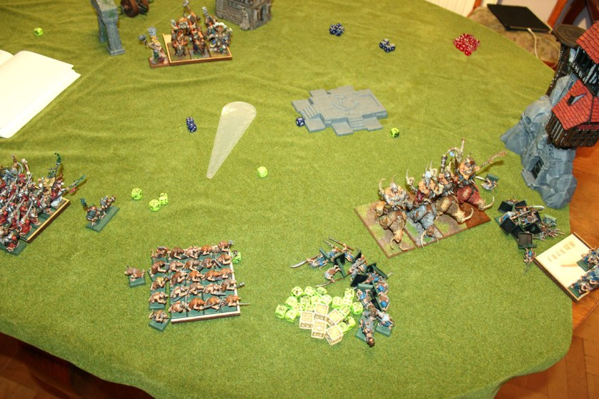 Situation in turn 3.
