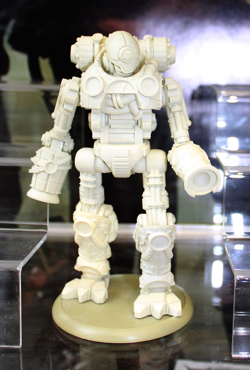 Giant robot.