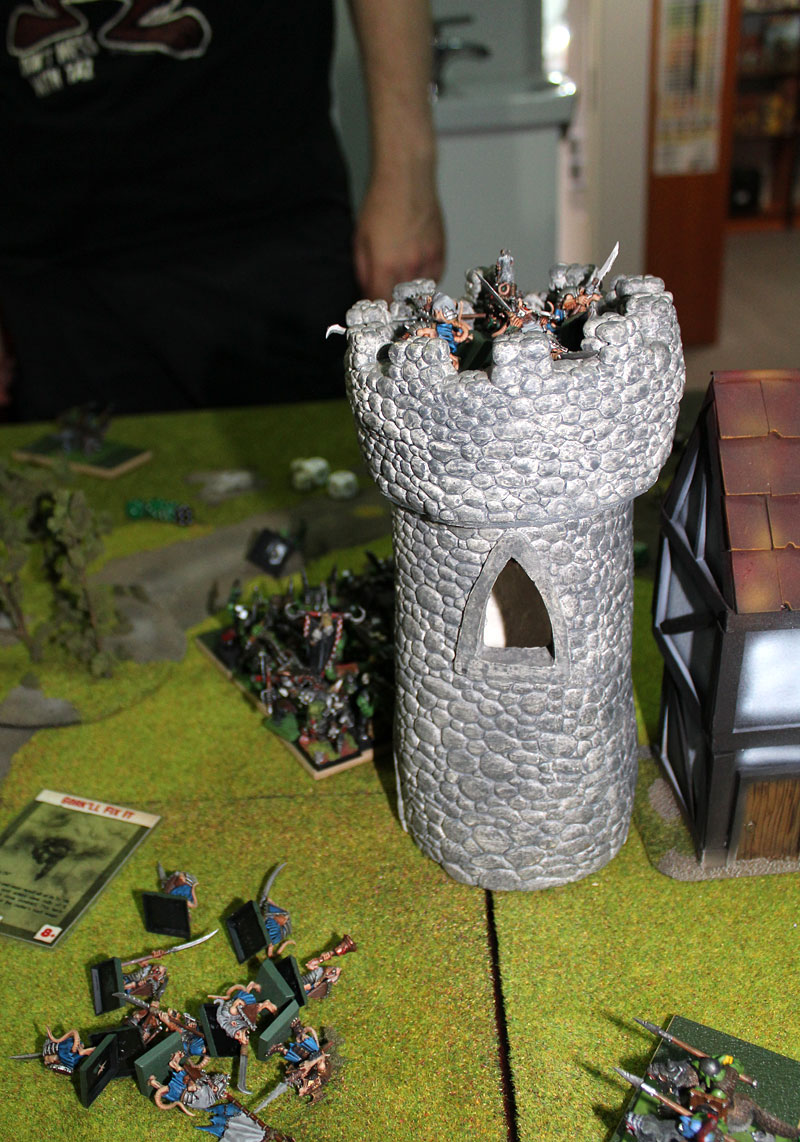 Clanrats in the tower.