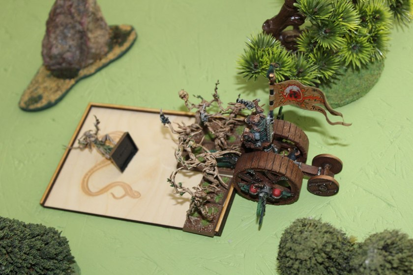 Doomwheel still fighting Dryads.