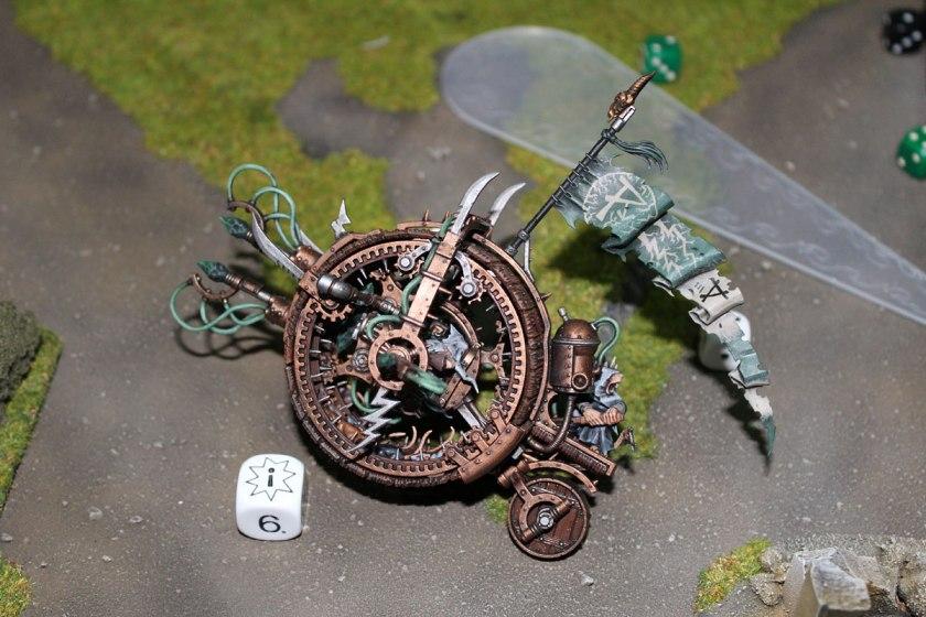 Ka-boom! Doomwheel exploded!