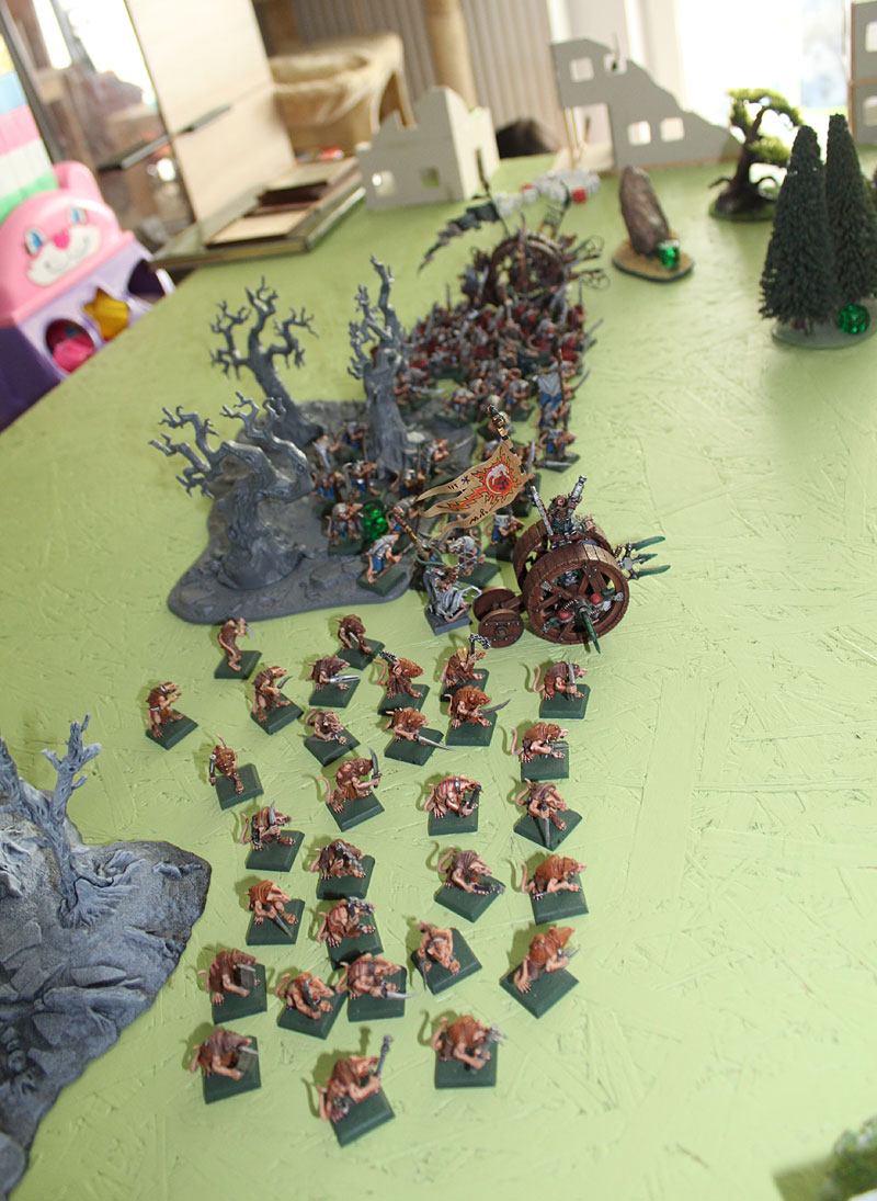 ...vs Age of Sigmar skirmish formations. What looks better? You are the one to judge...