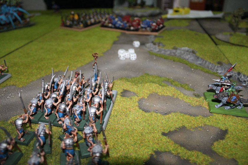 Clanrats failed to charge.