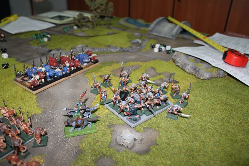 ...and Clanrats flee...