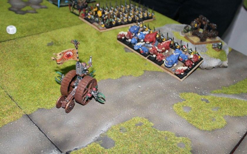 The Zzap of Doomwheel. Goblins flee!