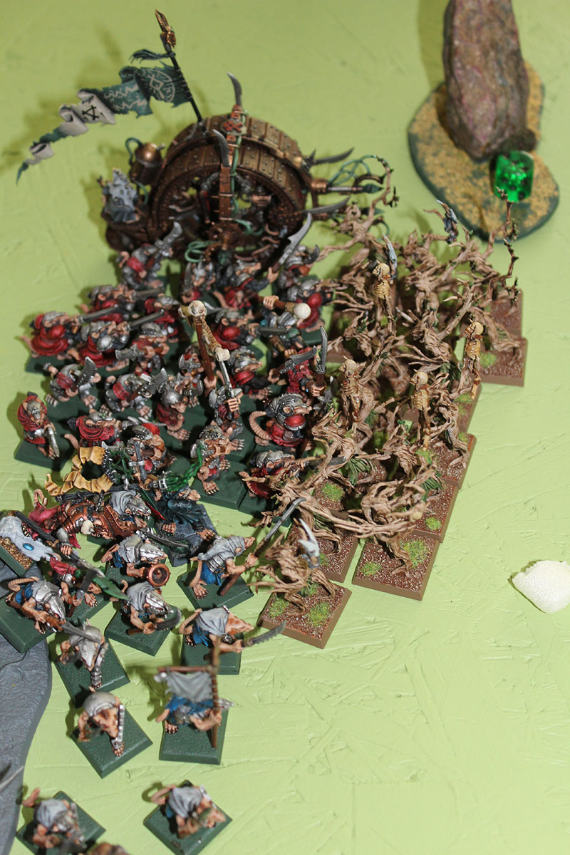 Dryads charged...