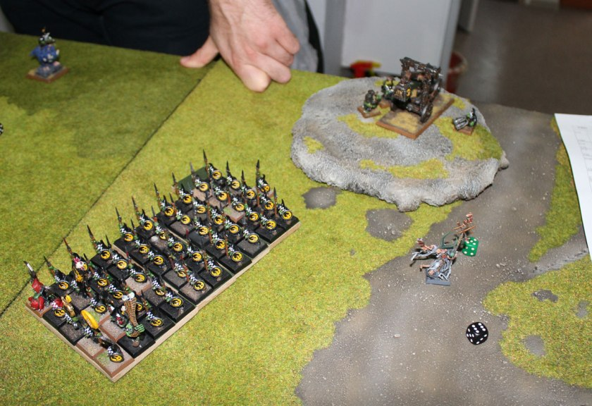 Grey Seer moved to possibly safer position...