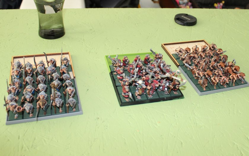 Block formations of WHFB...