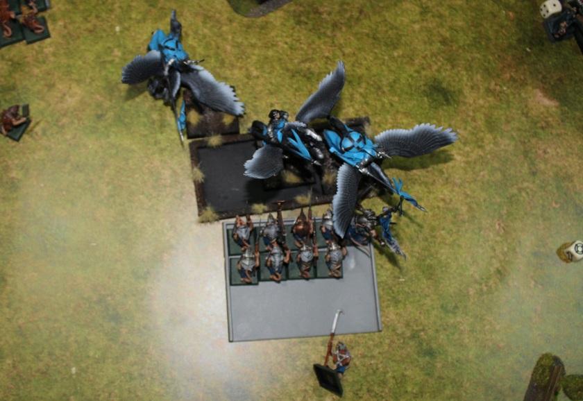 Clanrats vs Pegasuses.