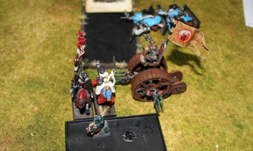 Doomwheel charged from the right.
