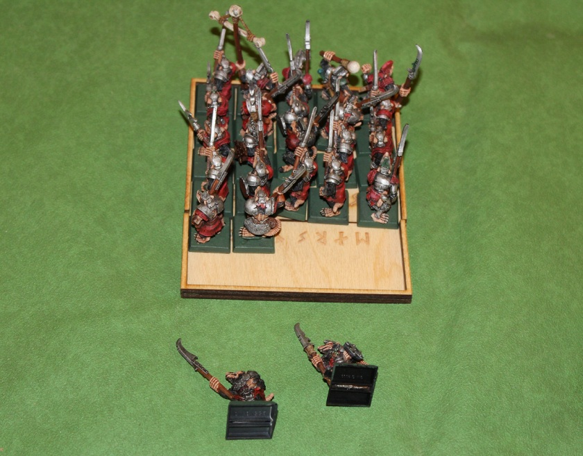Halfling arrows killed 2 Stormvermin.