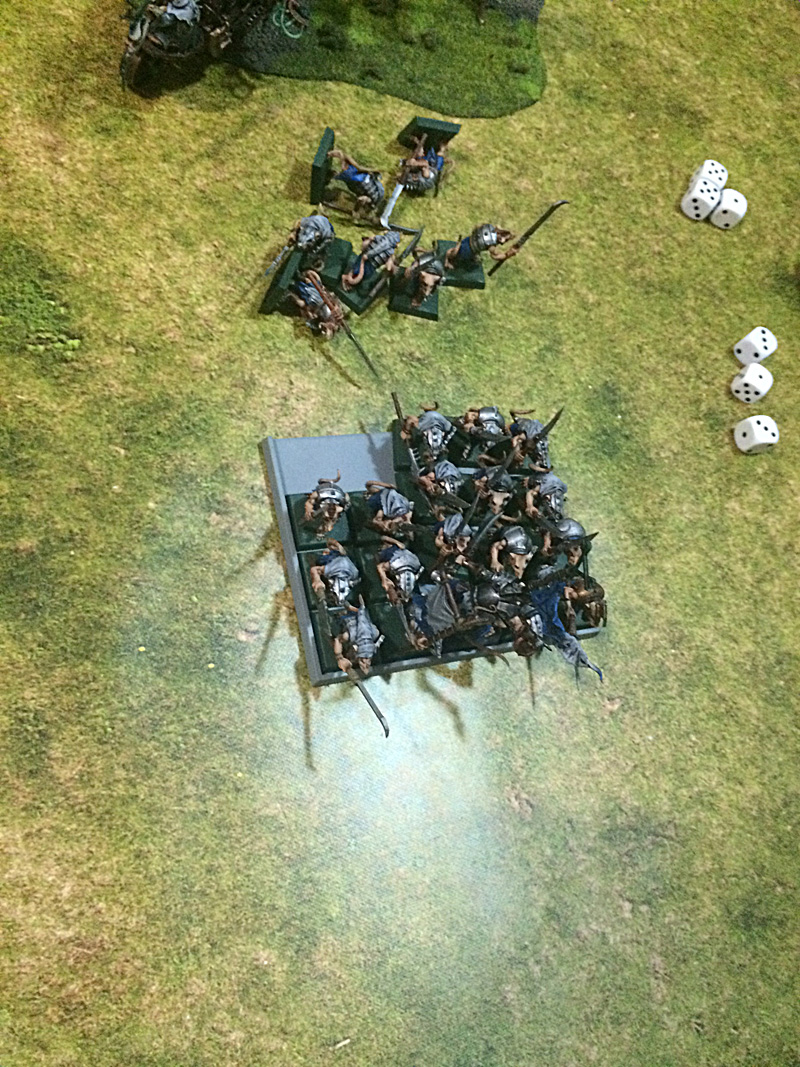 More Skaven shot by Thunderers.