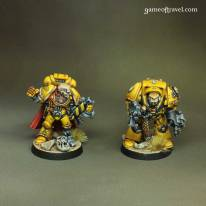 Imperial Fists Captains