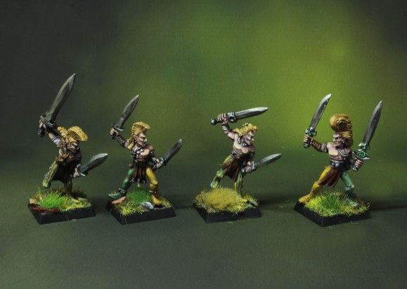 Wood Elf Wardancers